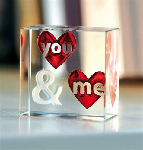 spaceform you me glass romantic love gift ideas for her