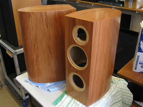 home audio speaker cabinets clearwave rbr curved cabinet build diyaudio diy