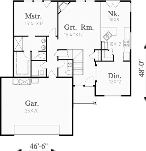 Two Story House Plans Master On The Main House Plans Two Story House Plans Bonus Room