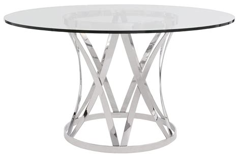 Modern Black Dining Room Sets by Dining Room Fabulous Round Glass Top Dining Table Metal