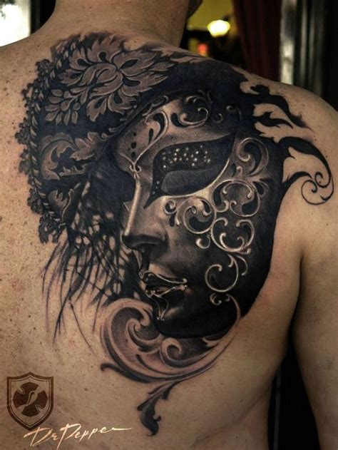masquerade tattoo 73 best tattoos masquerade images on
