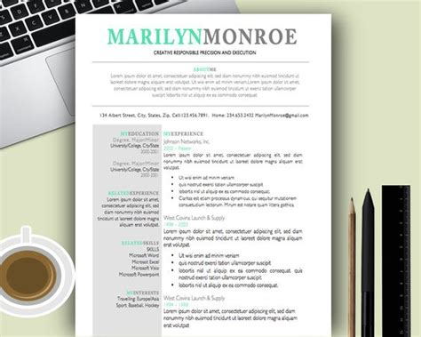 creative templates for resumes premium and creative resume templates cover letters
