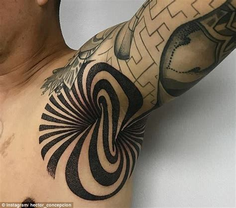 instagram has been flooded with over 7 000 armpit tatttoos