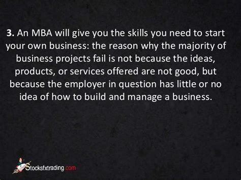 What Skills Does An Mba Give You by Mba 5 Reasons To A Degree