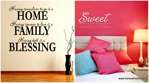 Bedroom Wall Quote Stickers 11 diy wall quote art that will beautify your home