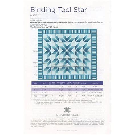 Missouri Quilt Company Tutorials Binding by Binding Tool Quilt Pattern By The Missouri Quilt