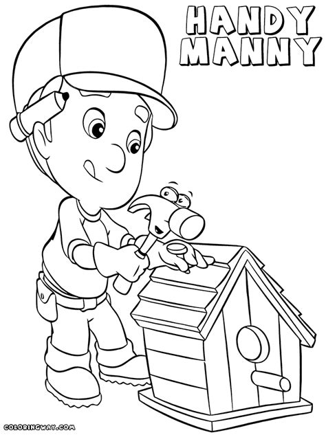 handy manny coloring pages handy manny coloring pages coloring pages to