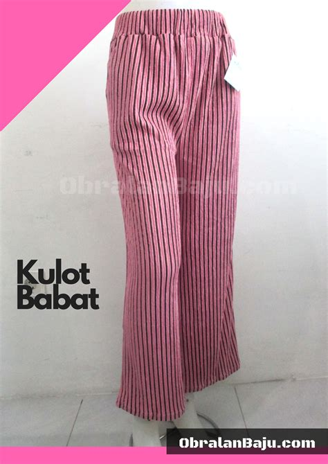 Celana Kulot Motif 04 celana kulot babat pusat grosir baju pakaian murah meriah 5000 langsung dari pabrik