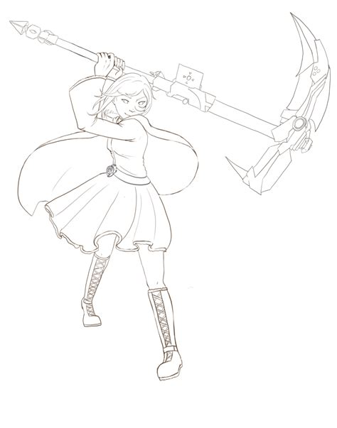 ruby rose coloring page rwby rose coloring pages coloring pages