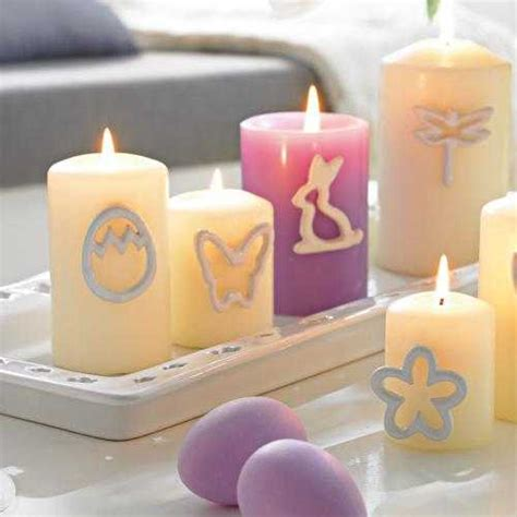 eco friendly easter candles centerpieces adding color light and scent to spring decorating
