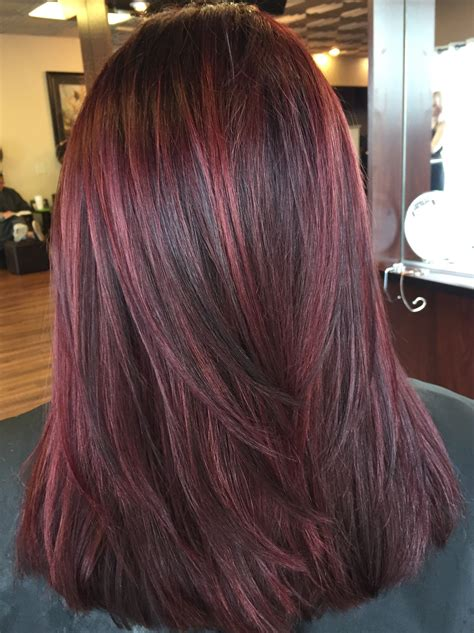 dimension with two low lights reds lowlights dimensional red hair by julia