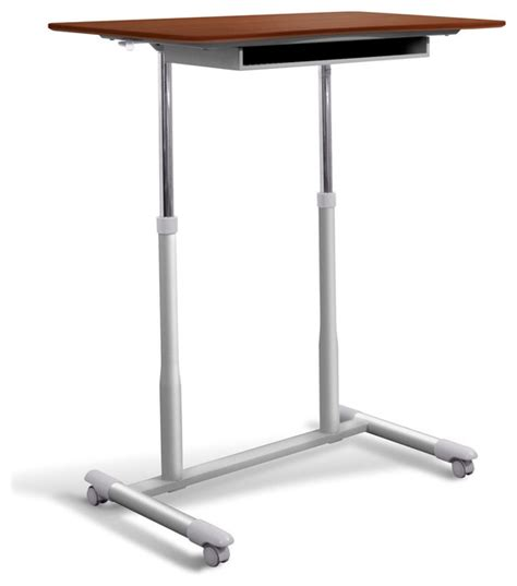height of stand up desk stand up desk height adjustable mobile contemporary