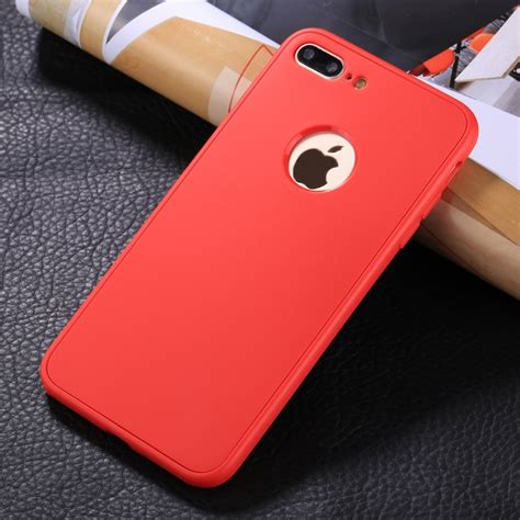 for iphone 8 plus 7 plus stylish lightweight 360 degree shockproof detachable tpu pc