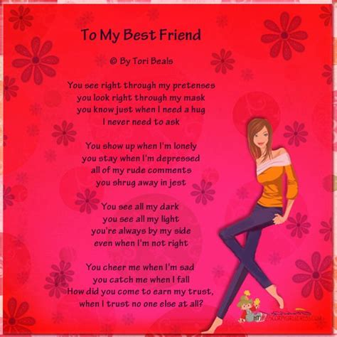 poems for your best friend i my bff poems to my bestfriend bestfriend poems