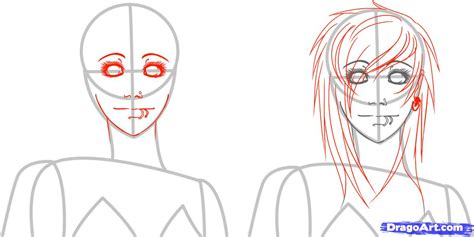 step by step emo haircut how to draw emo girls step by step characters pop