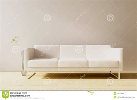 face couch couch to face a blank wall stock illustration