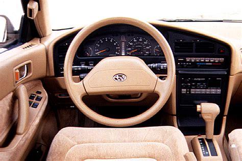 subaru loyale interior 1990 94 subaru legacy consumer guide auto