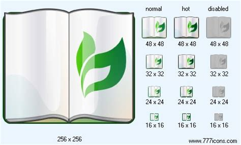 reference book for net in commerce plant reference book icon i commerce icon set