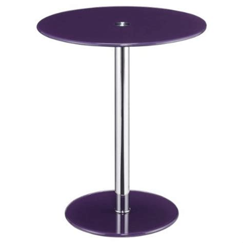 purple accent table object moved
