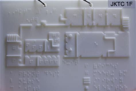 floor ls for visually impaired 3ders org 3d printing tactile maps for the blind and