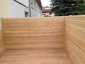 garten sichtschutz holz douglasie sichtschutz douglasie terrasse beste home design inspiration