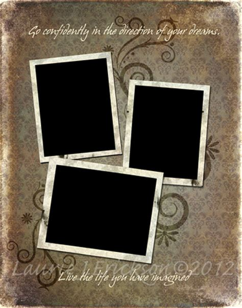 3 photo collage template photography by laurie j erickson collage templates