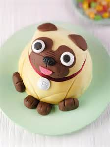 pug cake pug and his cake ideas and designs