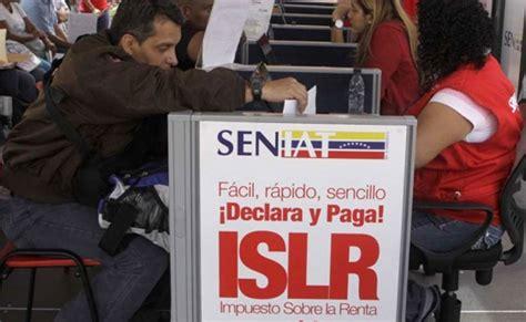 sustraendo del islr 2015 seniat unidad tributaria para declarar islr se mantiene
