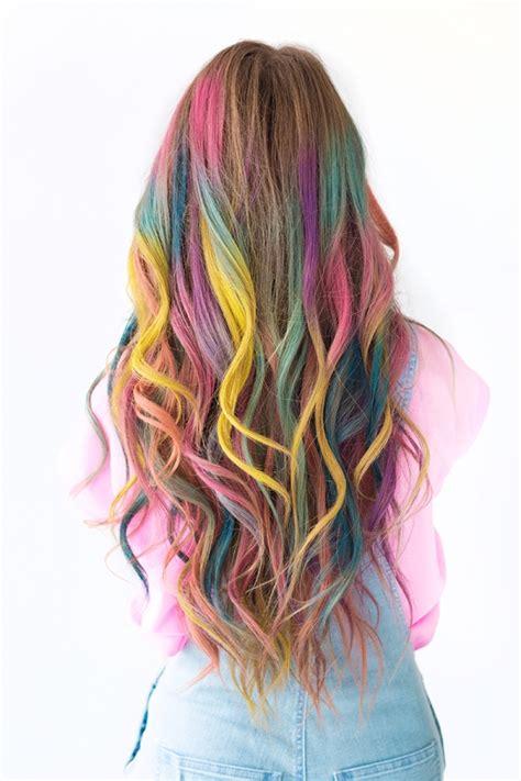 temporary hair color diy diy temporary colombr 233 hair