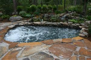 Small Backyard With Pool Custom Tub Custom Spas Natural Stone Bathtub Generva