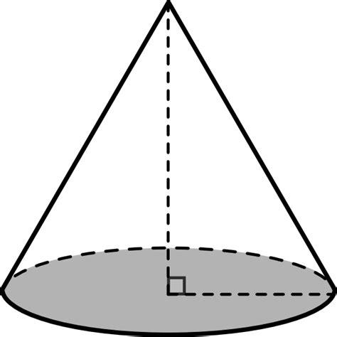 Cone Kerucut Solid cone clip at clker vector clip royalty free domain