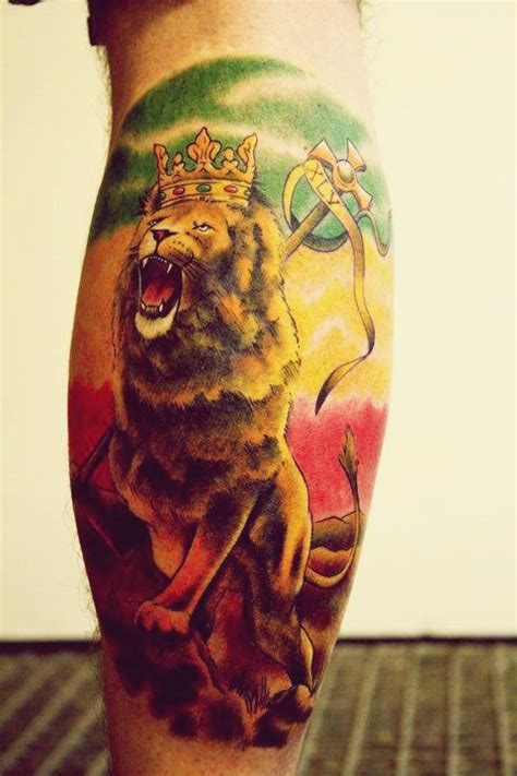 lion of judah tattoo design conquering of judah tattoos and