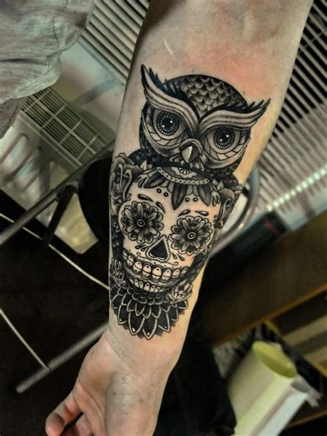 sugar skull owl tattoo designs 25 best ideas about sugar skull owl on pretty