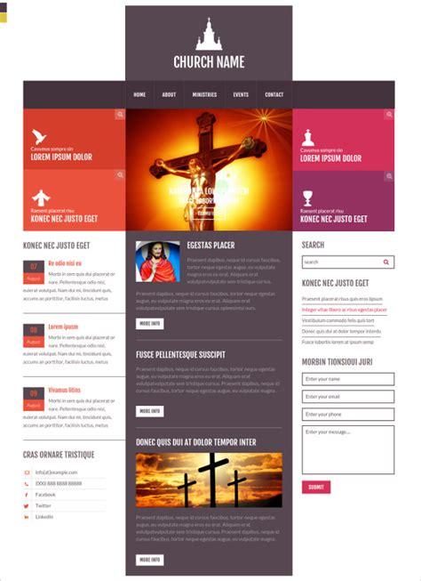 Church Website Templates Cyberuse Free Church Templates