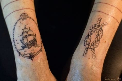 designspiration tattoos best tattoos nautical ship rope tattoo images on