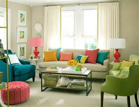 Small Colorful Living Room by Cosy And Colorful Living Room Design Ideas