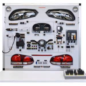 Wiring Car Lighting Board Technolab Sa Thepra Lighting Board Central Electrics