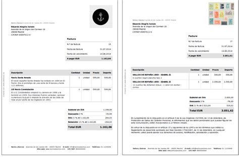 descargar plantillas facturas servicios profesionales c 243 mo hacer una factura debitoor programa de facturaci 243 n