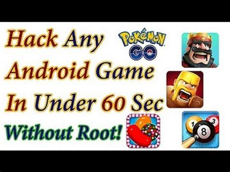 how to mod android game without root how to hack any android game in 60 sec without root and pc