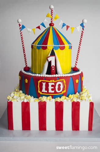 sweet carnival cakes leo s carnival birthday sweet flamingo cake co