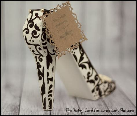 high heel shoe template craft 17 best images about shoe cards on handmade