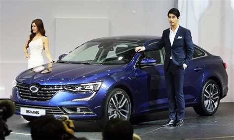renault samsung sm6 renault samsung set to release upcoming sm6 sedan