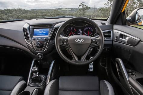 hyundai veloster 2016 interior hyundai veloster revised with new features and sharper