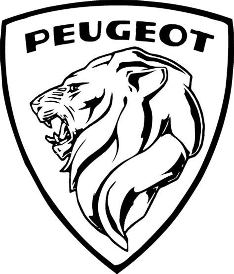 logo peugeot vector djstudds logos