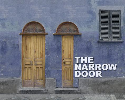 imprints narrow door