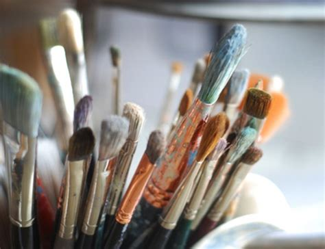 how to clean acrylic paint on canvas acrylic paint brushes