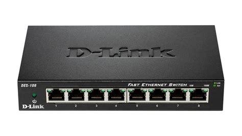 D Link Fast Ethernet Switch 8 Port Des 1008c Promo des 108 switch fast ethernet 8 ports d link