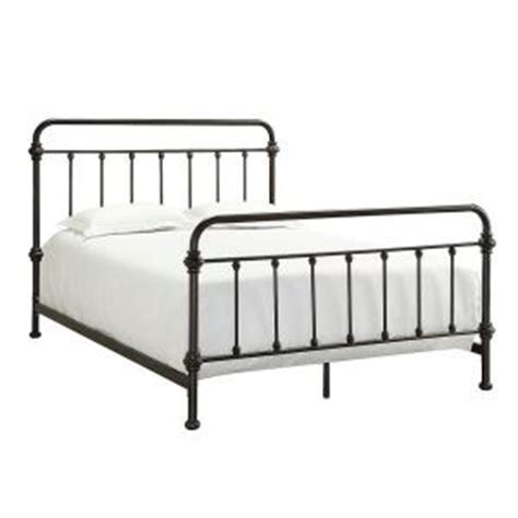 home depot bed frame homesullivan calabria metal full size bed 40e411b211w 3a