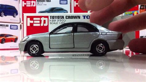 tomica toyota unboxing tomica toyota crown 2004