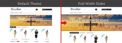Theme Maker Prestashop 1 6 | how to create full width image slider in prestashop 1 6